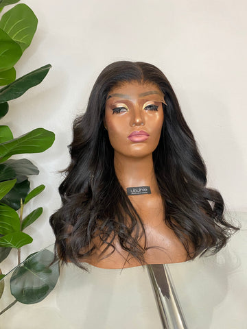 Straight Handmade Wig - With 5x5 HD Swiss Lace Closure