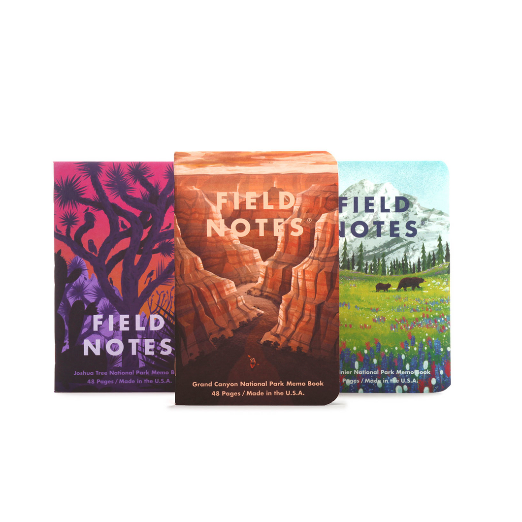 Field Notes National Parks Series B 3-Pack