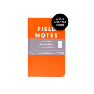 Field Notes Expedition Edition 3-Pack