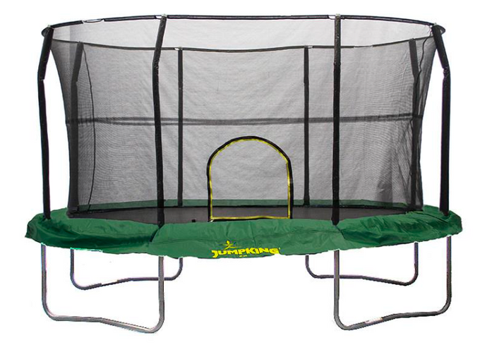 JUMPKING® 8' x 12' Oval Trampoline