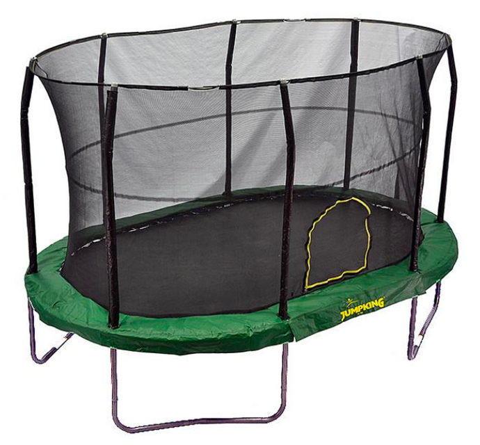 JUMPKING® 9' x 14' Oval Trampoline