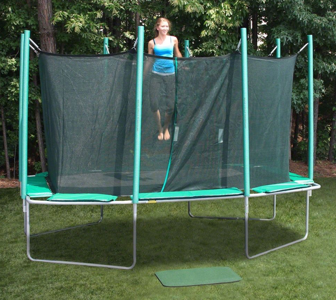 9' X 14' RECTAGON MAT/CAGE REPLACEMENT FOR A MAGIC CIRCLE TRAMPOLINE