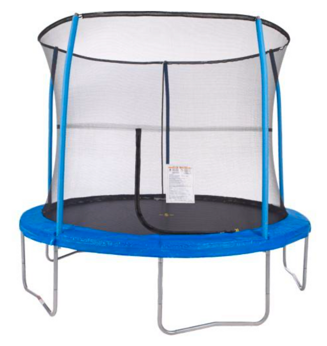 JUMPKING® 10' Trampoline With Enclosure