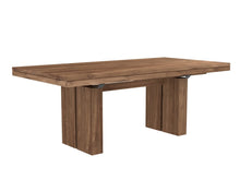 Load image into Gallery viewer, Teak Double Extendable Dining Table
