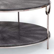 Load image into Gallery viewer, Vogue Shagreen Cocktail Table in Various Colors