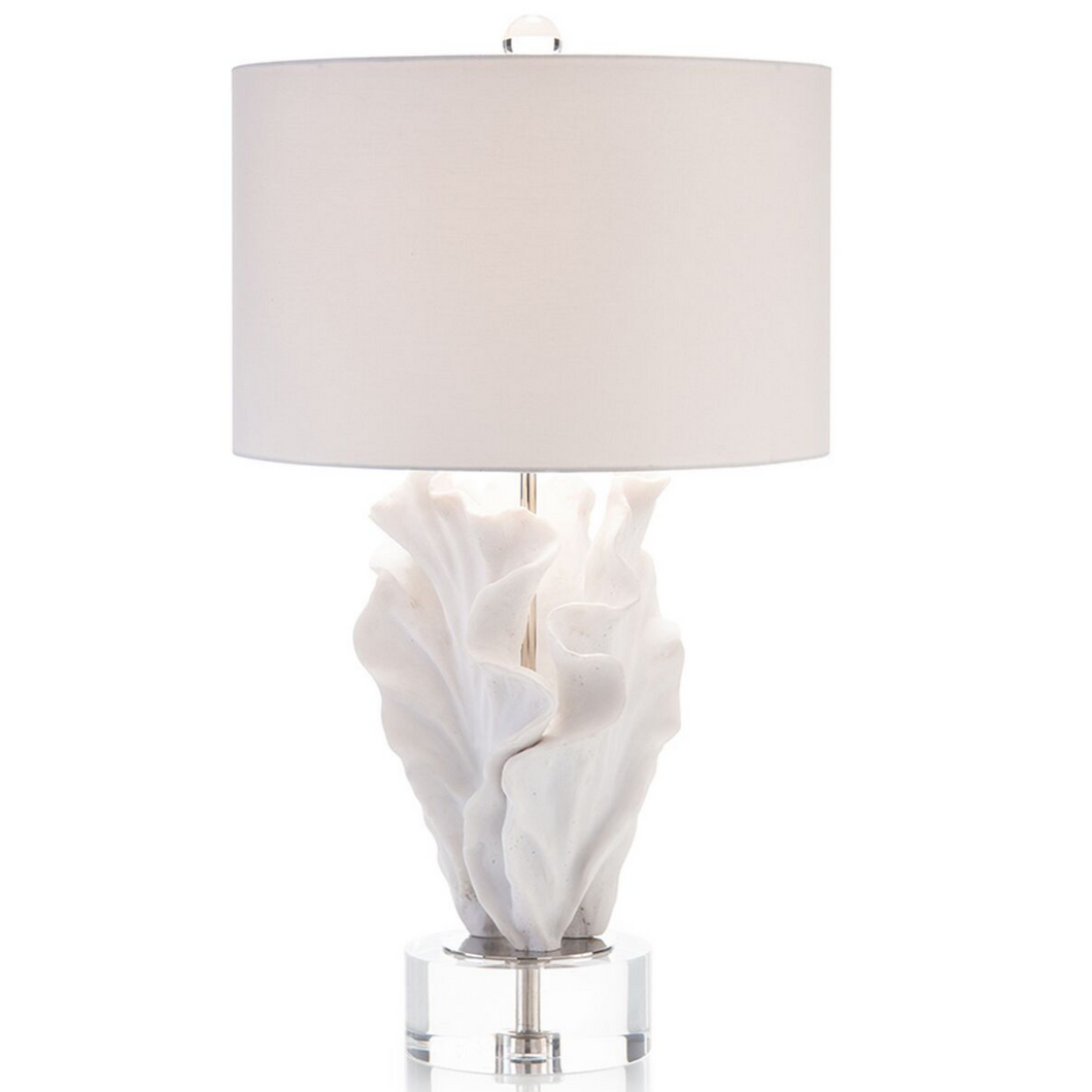 Cast Coral Table Lamp