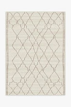 Load image into Gallery viewer, Marrakesh Beige & Ivory Ruggable - Washable Rug 5x7
