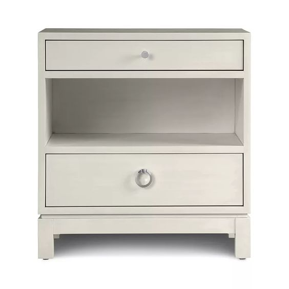 Sadie Two-Drawer Nightstand
