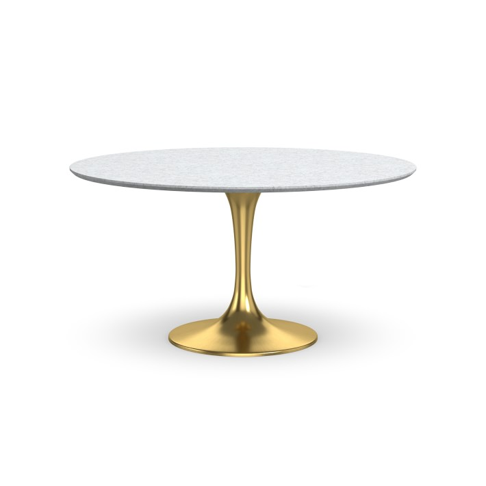 Tulip Pedestal Dining Table Various Sizes, Finishes and Tops