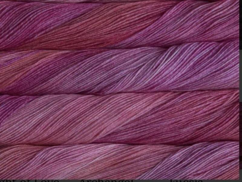 Malabrigo sock -Light of love 857