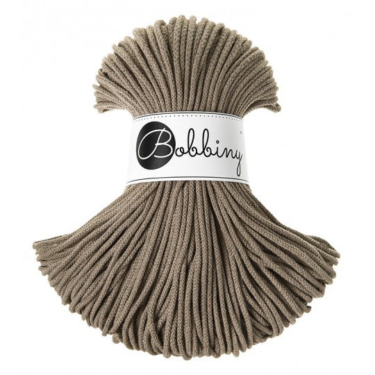 Junior Cotton Cord 3 mm Coffee 250 gram