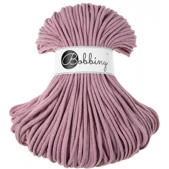 Premium Cotton Cord 5 mm Dusty Pink 500 gram