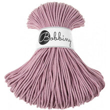 Ladda upp bild till gallerivisning, Junior Cotton Cord 3 mm Dusty Pink 250 gram