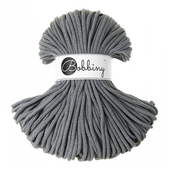 Premium Cotton Cord 5 mm Steel 500 gram