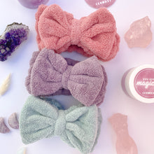 Load image into Gallery viewer, Supersoft Bow Headband | Pretty Pink