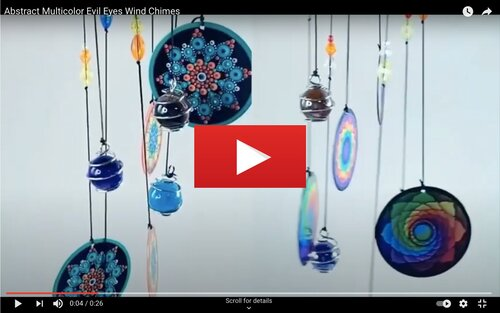 Image of Evil Eye Wind Chimes Video Thumbnail