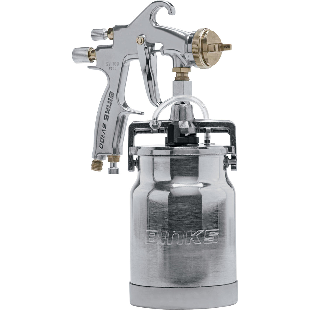 Binks SV100S Conventional Siphon Feed Spray Gun
