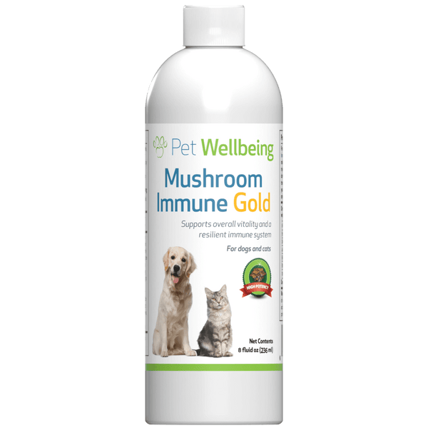 Mushroom Immune Gold for Canine Potent Immune Support