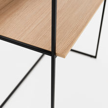 Load image into Gallery viewer, Allermuir Crate desk with upstand and shelving