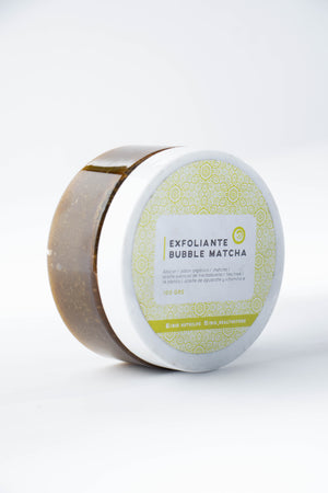 Exfoliante Bubble Matcha