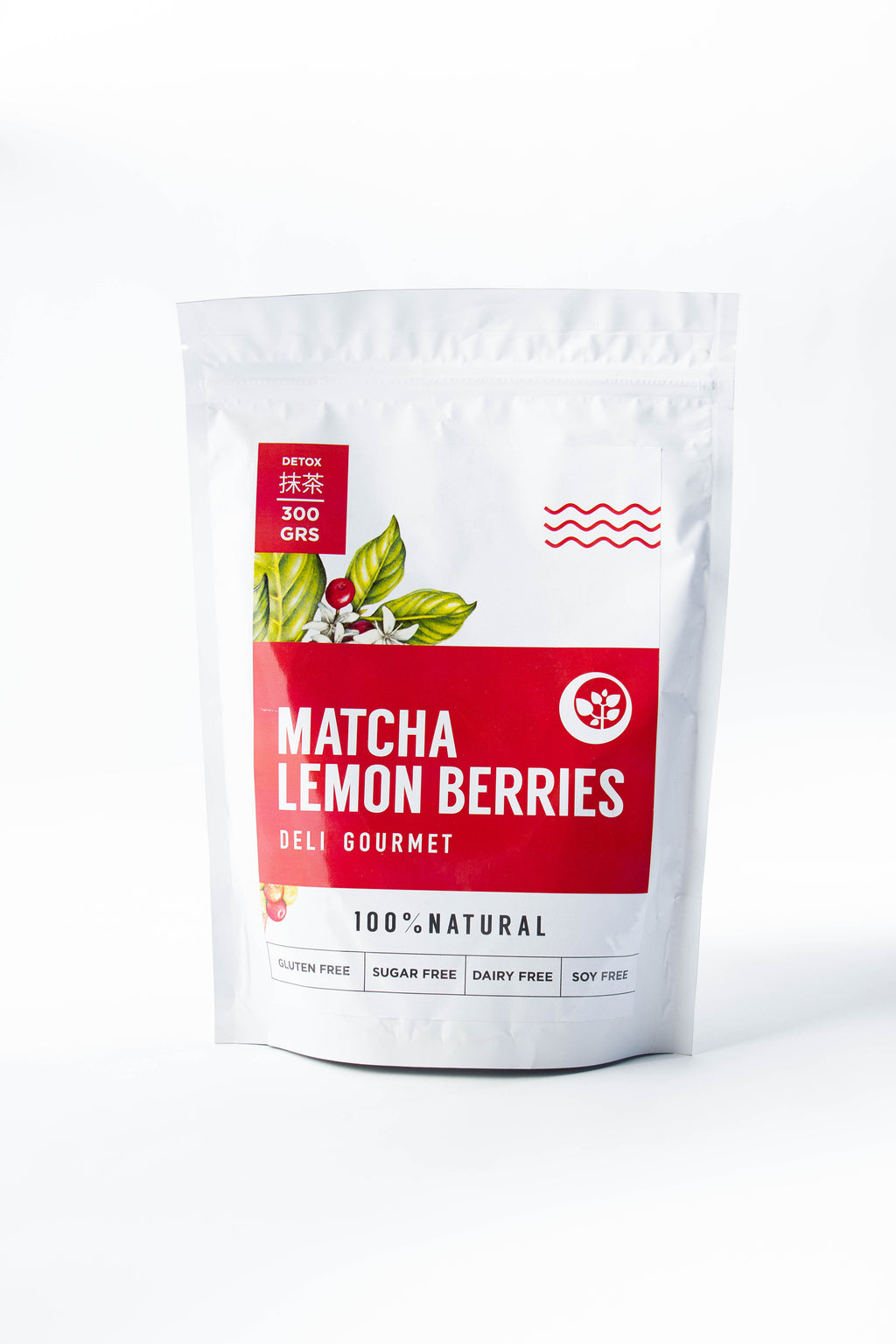 Matcha Lemon Berries