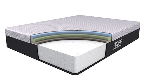 <hope signature collection, 4 layers premium foam, Hope Original, side sleeper, luxury and comfort, memory foam mattress, supportive mattress, made in the USA, CertiPUR-US certified, cooling, best mattress, free shipping,120-day trial, lifetime warranty>