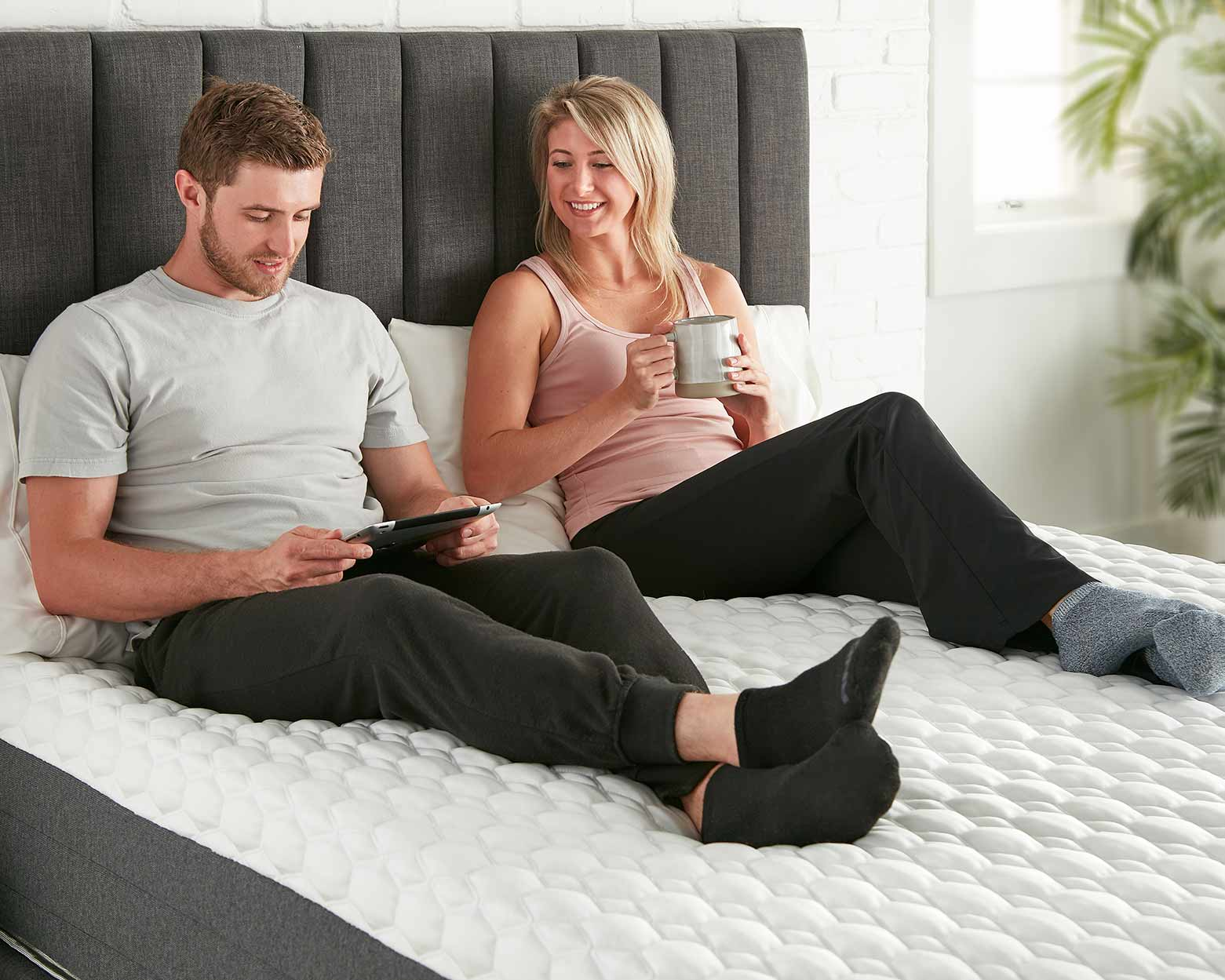 <great for all sleep positions, hope signature collection, luxury and comfort, memory foam mattress, hybrid mattress, supportive mattress, made in the USA>