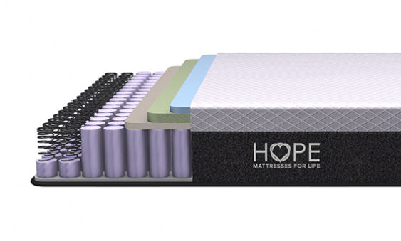<hope signature collection, 4 layers, coils,Dream Hybrid, side sleeper, stomach sleeper, back sleeper, , luxury and comfort, memory foam mattress, hybrid mattress,supportive mattress, made in the USA, CertiPUR-US certified, cooling, best mattress, free shipping,120-day trial, lifetime warranty>