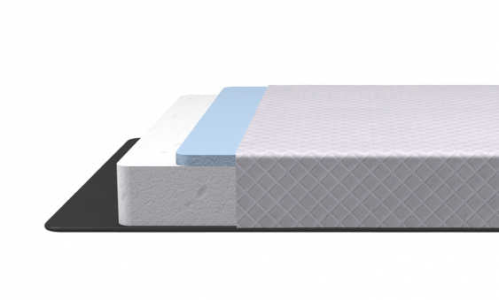 <hope signature collection,2 layers premium foam, Rever, back sleeper, luxury and comfort, memory foam mattress, supportive mattress, made in the USA, CertiPUR-US certified, cooling, best mattress, free shipping,120-day trial, lifetime warranty>