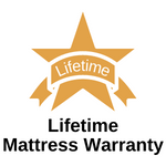 <lifetime mattress warranty, hope classics collection, memory foam and hybrid mattresses, low monthly payments, everyday savings>