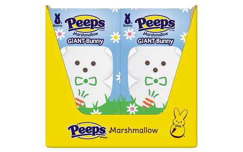 PEEPS 1ct. Large White Marshmallow Bunny, Pack of 24