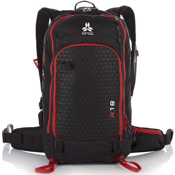 Arva Reactor 18L Black Red