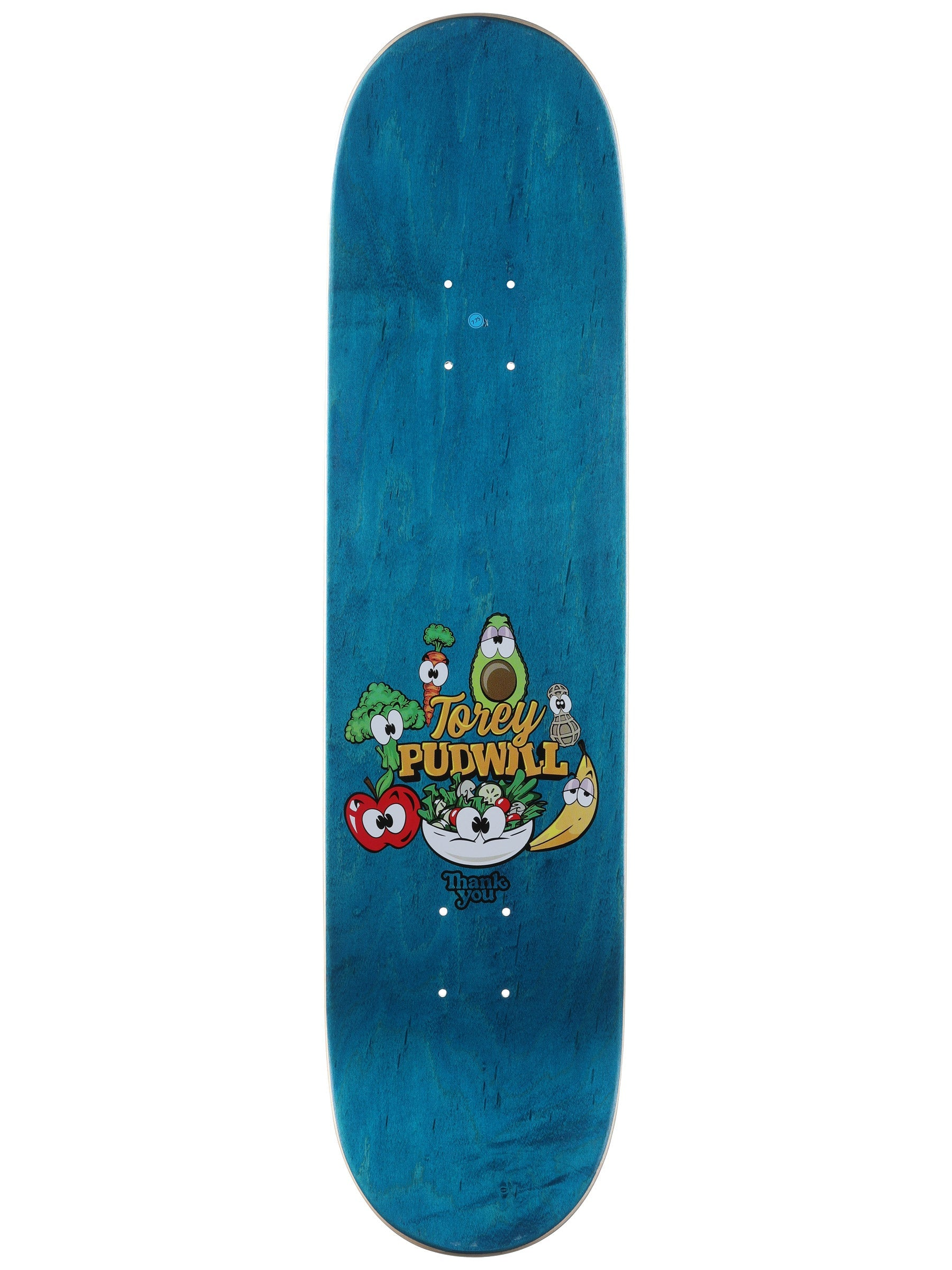 Torey Pudwill Heath Nut Deck