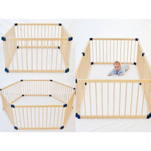 Load image into Gallery viewer, Kiddy Cots Link 100 - 6 Panel Baby Playpen