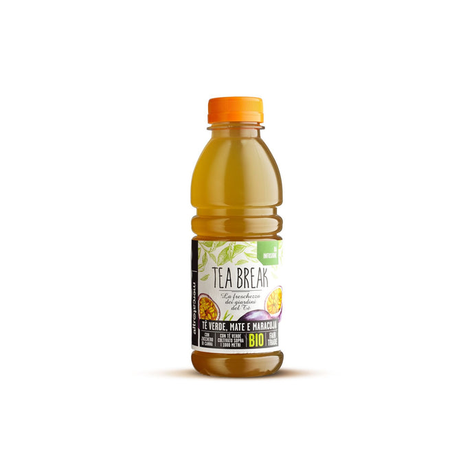 TEA BREAK - TÈ VERDE, MATE E MARACUJA - DA INFUSIONE - BIO | COD.00001092 | 500 (g/ml) |