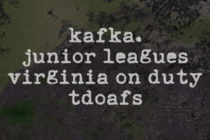 4-Way Split kafka., Junior Leagues, Virginia On Duty, tdoafs Full Stream