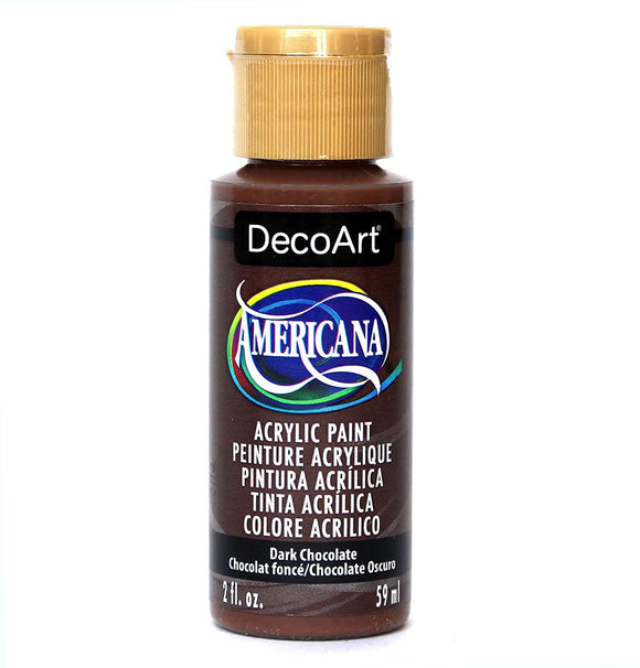 AMERICANA ACRYLICS NEUTRALS — DARK CHOCOLATE Deco Art Americana