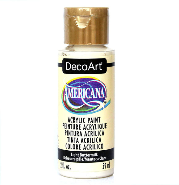 AMERICANA ACRYLICS NEUTRALS — LIGHT BUTTERMILK Deco Art Americana