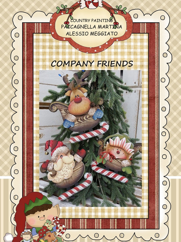 Company Friends E- Pattern By Alessio Meggiato e Ape Pazza Out of the Wood