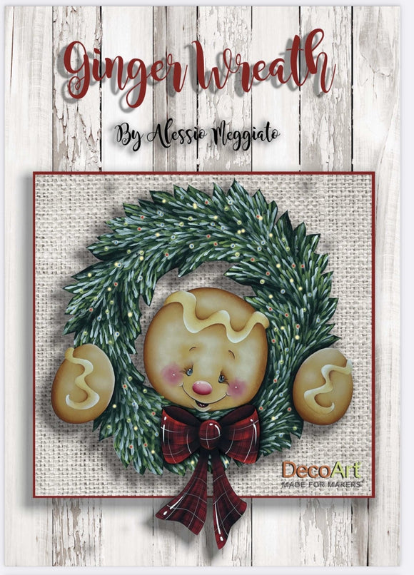 Ginger Wreath E-pattern ( ITALIANO ) Out of the Wood