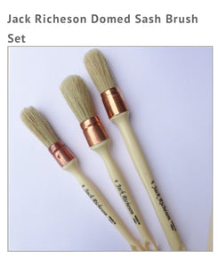 Lynne Andrews brush  Sash Brush Domed Series by Jack Richeson PriceKIT 3 MISURE Out of the Wood