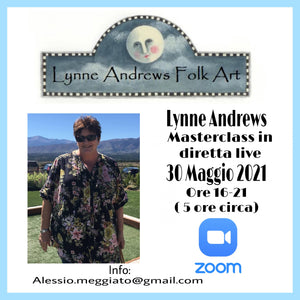 MASTERCLASS IN DIRETTA LIVE  CON LYNNE ANDREWS Out of the Wood