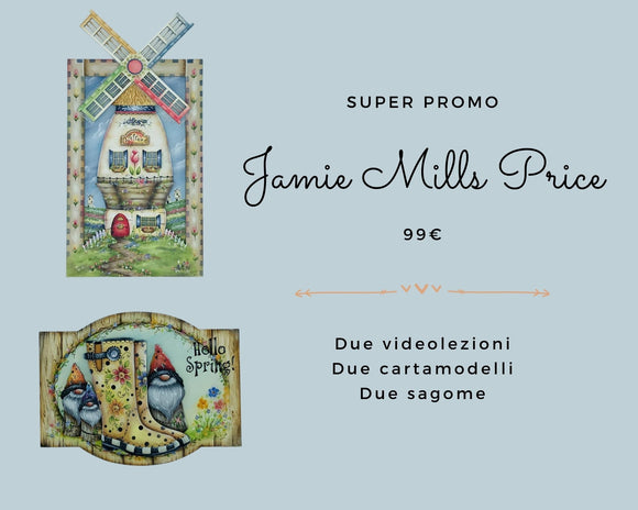 PROMO SPECIALE - Videolezioni Jamie Mills Price Out of the Wood