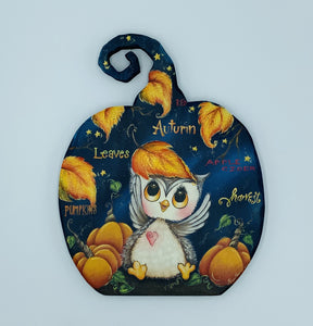 Videolezione Autumn owl design Holly Hanley Out of the Wood