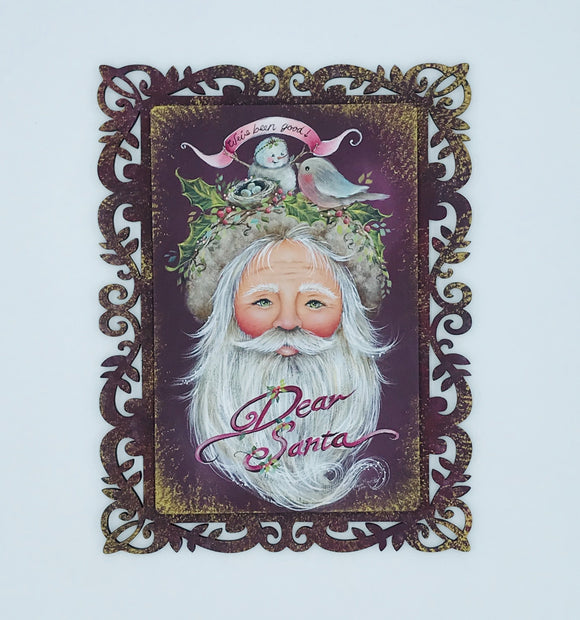 Videolezione Dear santa Design by Jamie Mills Price Out of the Wood