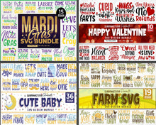 Load image into Gallery viewer, 510 Huge Design Pack Svg Bundle Awesome Collection - LoveMyCuttables.com