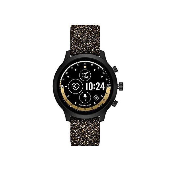 Michael Kors Access Gen 4 MKGO Smartwatch- Lightweight Touchscreen Powered with Wear OS by Google with Heart Rate, GPS…