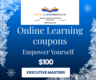 Oduwa career institute - Discount Coupons - $100 towards apply Executive Programs Only