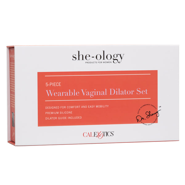 She-ology™ 5-piece Wearable Vaginal Dilator Set