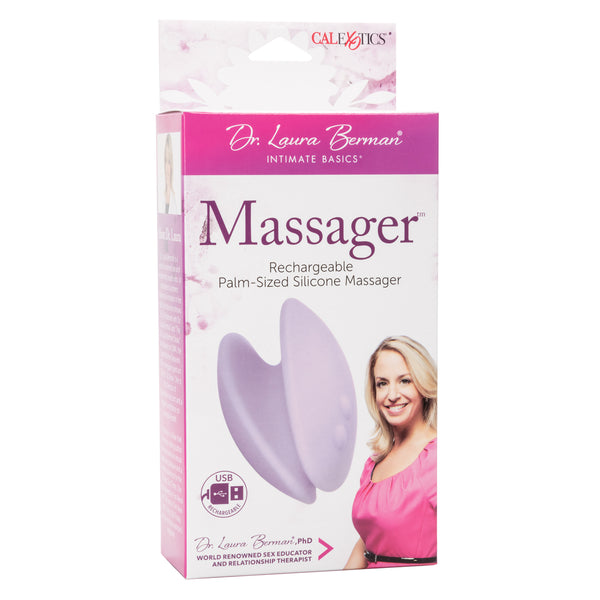 Dr. Laura Berman Rechargeable Palm-Sized Silicone Massager